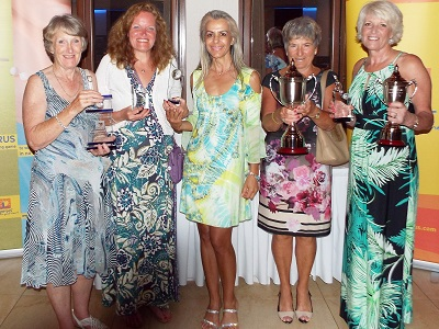 Ladies winners